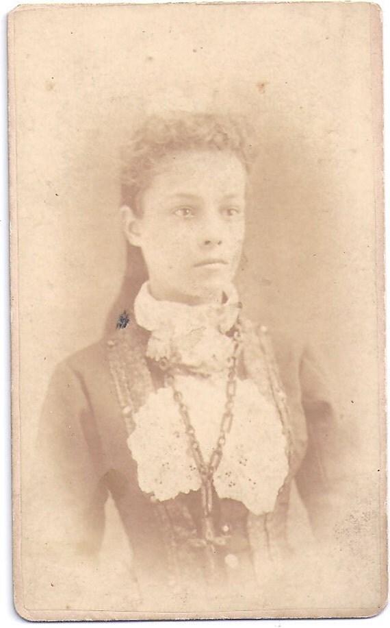 Vintage photograph, ANTIQUE CDV PHOTO