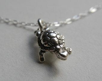 Tiny Turtle Necklace