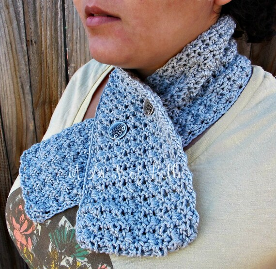 Vintage Inspired Crochet Scarf Pattern Adult and Teen Size