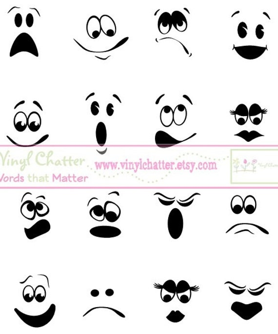 Items similar to Personalized Ghost Faces DIY Iron on