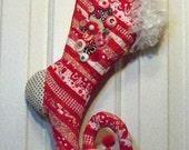 Whimsical Elf Stocking