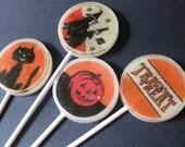 Retro Halloween Lollipops 4