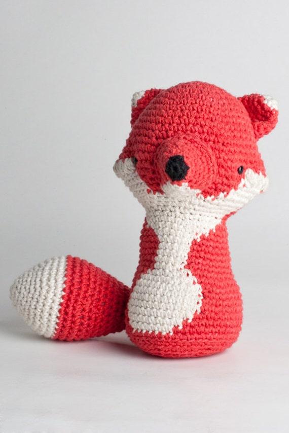 Amigurumi fox pattern-RAMON by LosSospechosos on Etsy
