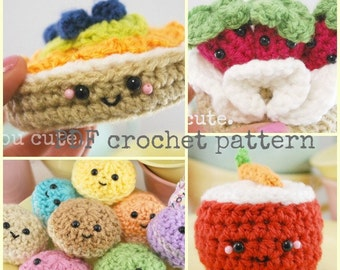 Amigurumi Fast Food : CROCHET PATTERN Amigurumi Fast Food Trio-crochet ...