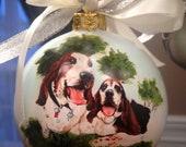 Personalized Pet Portrait Ornaments