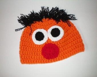Crochet Lovable Ernie Hats - Item CBJ123ERN