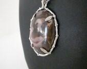 Store Closing Sale,  Necklace, Large, Jasper Pendant Necklace