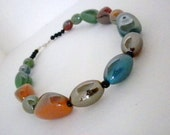 SALE, Multicolored Necklace, Colors of the Rainbow