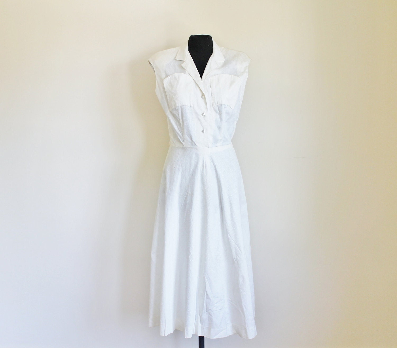 Casual White Cotton Wedding Slip Dresses 117