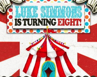 Vintage Carnival/Circus Invitation