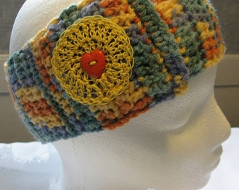 Hand Crocheted Headband / Ear Warmer (Child/Youth)