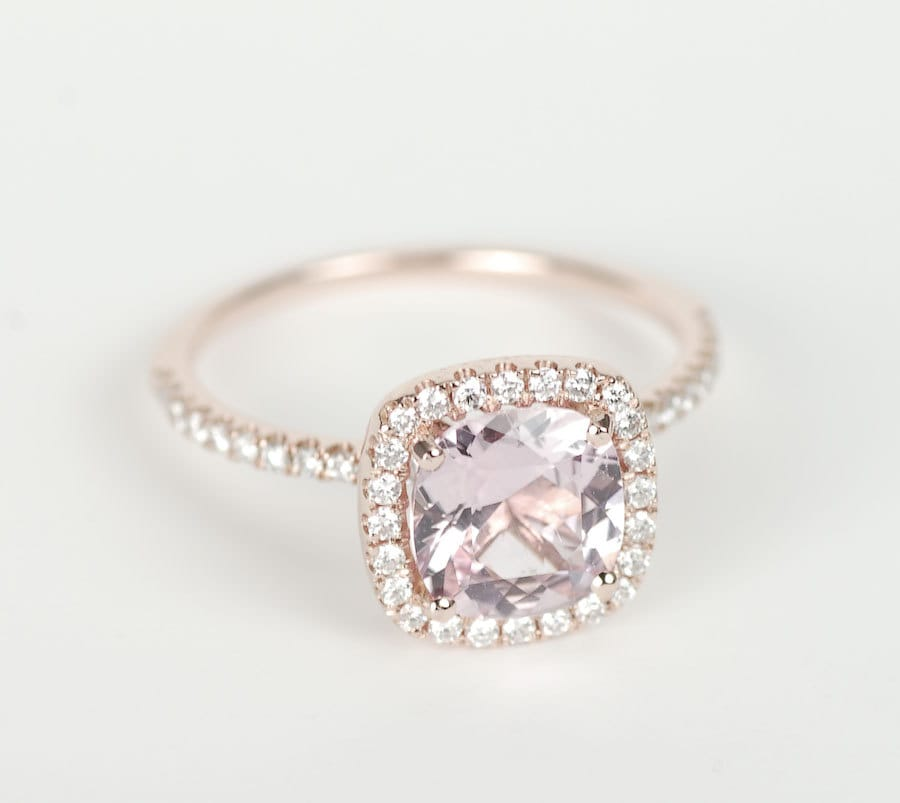 Certified Peach Pink Cushion Sapphire Diamond Halo Engagement. 1.71 Carat Engagement Rings. Trends Engagement Rings. Key Rings. The Good Wife Wedding Rings. Hipster Rings. Ginni Rings. Designed Wedding Rings. Real Hand Rings