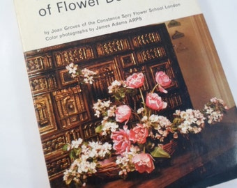 Vintage Book - Ilford Book of Flower Decoration Great Britian