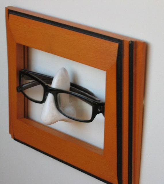 Wallmounted Eyeglass Holder - Father's Day Gift; Reading Glasses holder for Dad
