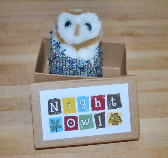 Night Owl with Dot Quilt (FREE SHIPPING SPECIAL)