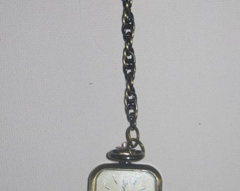 Watchful Eye Pendant Watch with double face (WORKING watch)