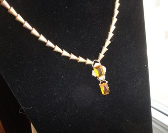 SALE DECO 12K Gold FIlled Necklace