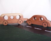 Toy Car and Air Dream Camper for Little Kids, Toddlers from our Li'l Bit Collection