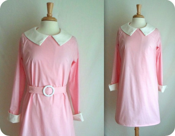Moonrise Kingdom Suzy Bishop Costume Dress with Belt CUSTOM MADE for Yelena