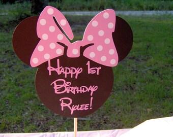 Minnie Mouse Centerpiece