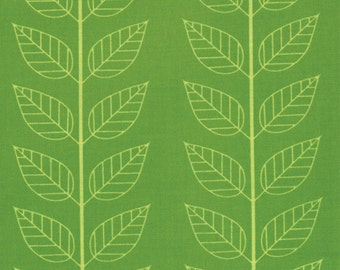 Simply Color Lime Green Leafy Stripe 10805 - 18
