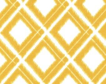 Simply Color White Mustard Ikat Diamonds 10806 - 11