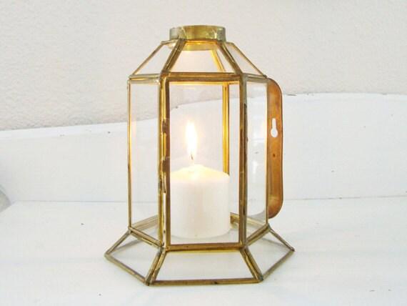 Brass And Glass Terrarium
