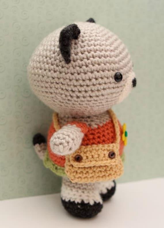 Amigurumi Neko : Amigurumi Crochet Pattern- Neko Cat from littlemuggles on ...