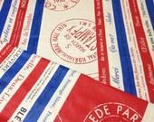 Japanese Fabric Cotton Yuwa - France 1952 - a yard