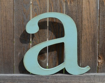 Nursery Wall Hanging Letters Wood Letter a