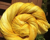 """Hand-dyed """"Brighter by One Star"""" BFL/Silk - 438 Yards"""