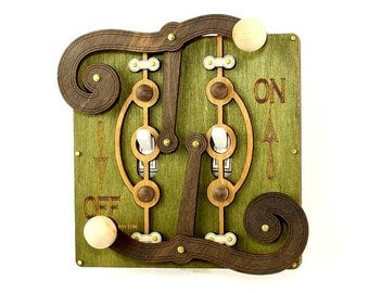 Fulcrum Light Switch Plate - Earth Tones