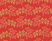 SALE 1 yard of Tapestry Sangria Coral by Fig Tree Quilts for Moda