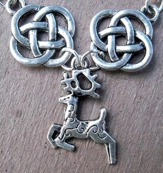 Norwegian Reindeer Necklace