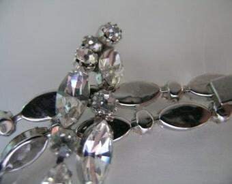 SALE Weiss rhinestone bracelet           VJSE