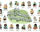30 Hollywood Hardasses Po...