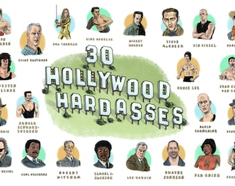 30 Hollywood Hardasses Poster