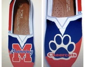 Custom Order Cheer Mom TOMS