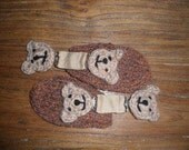 Baby Mittens- It's Hip To Be Clipped Infant Mitts