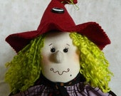 Halloween Witch Doll - Minnie