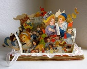 Altered Book antique pop up Raggedy Ann Stories Fairy tales