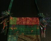 Bohemian Style Quilted Purse