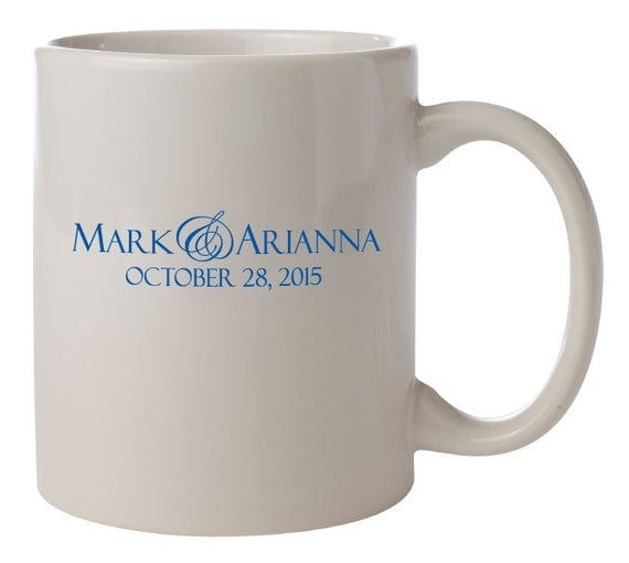Personalized Wedding Favor Coffee Mugs : favorite favorited like this item add it to your favorites to revisit ...