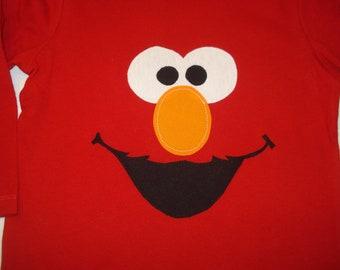Elmo Shirt- Great for Birthdays