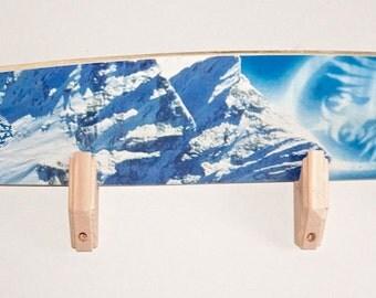 Skateboard Longboard Wall Rack Mount -- Holds 1 board