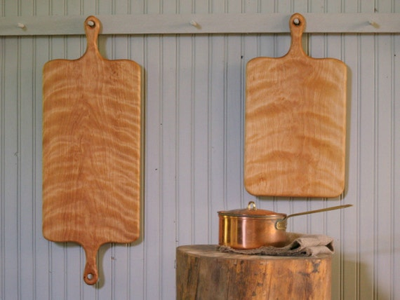 French Breadboards - Wood Serving Boards - Large Cheese Boards