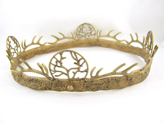 Renly Baratheon Game Of Thrones Brass Crown