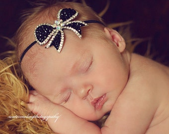ALL WRAPPED UP Headband - Preemie to Adult Sizes Available
