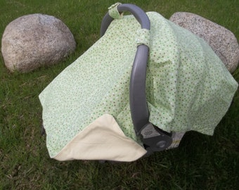 Baby Car Seat - Green - Gender Neutral