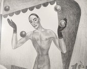Mac Harshberger Art Deco Signed Print 2/25